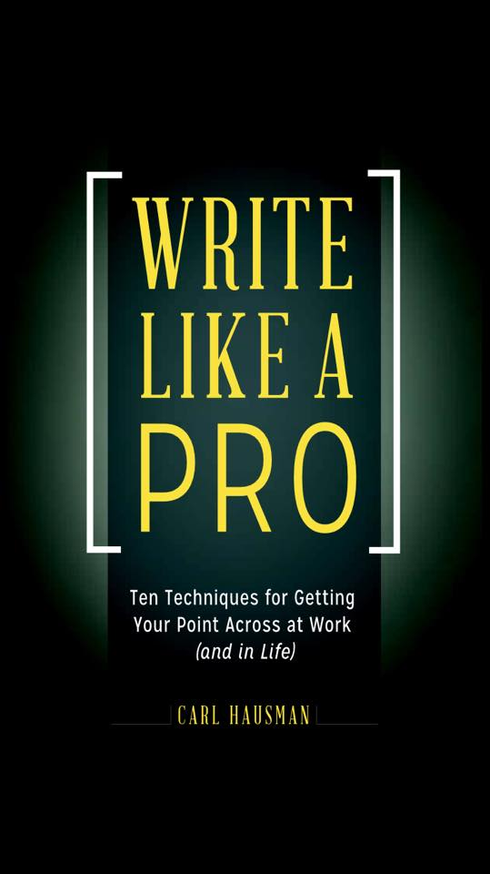 Write Like a Pro Cover